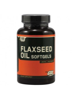 ON Flaxseed Oil Softgels (1000 mg), 100 Soflets