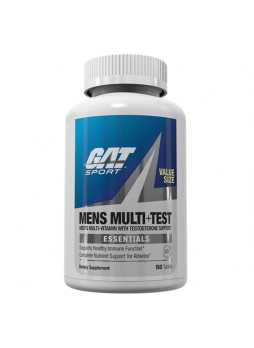 GAT Mens Multi+Test, Unflavoured 150 tablet(s)