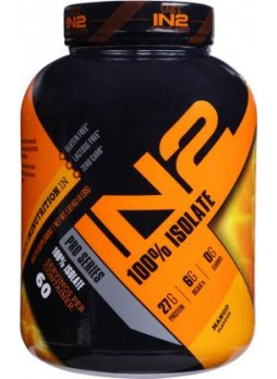 IN2 100% Isolate Whey Protein  (1.81 kg, Mango)