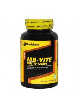 MuscleBlaze MB-VITE Multivitamin, Unflavoured 60 tablet