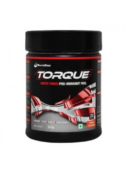 MuscleBlaze Torque Pre-Workout, 1.1 lb Orange