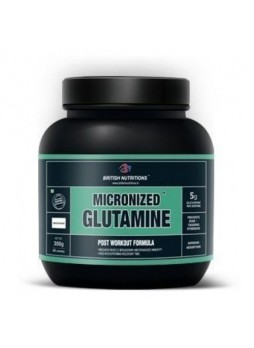 British Nutritions Micronized Glutamine - 300 Gm