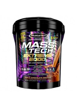 MuscleTech Mass Tech 22 Lbs Triple Chocolate Brownie