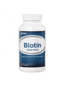 GNC Biotin (2500mcg), Unflavoured 120 caps