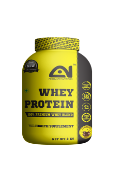 Absolute nutrition whey protein 2 kg